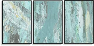 NWT Framed Canvas Wall Art for Living Room, Bedroom Abstract Ink Oil Painting Canvas Prints for Home Decoration Ready to Hanging - 24