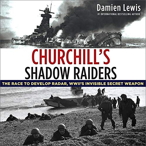 Churchill's Shadow Raiders audiobook cover art