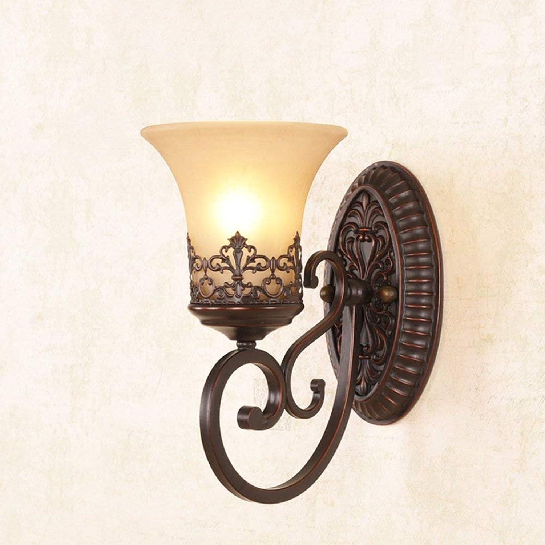 Retro Wandleuchte Eisen Lampe Wohnzimmer Schlafzimmer Wand Lampe Hintergrund wand Lampe am Bett Spiegel vordere Lampe Gang leuchtet
