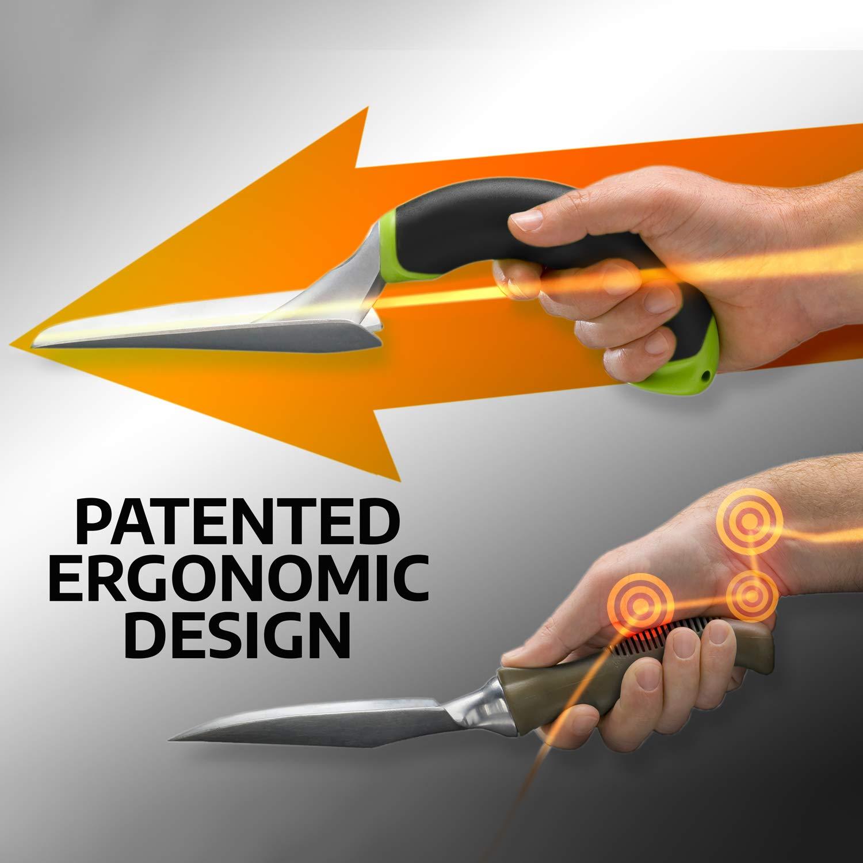 Green Radius Garden 10602 Ergonomic Aluminum Hand Scooper