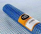 FUN&GO Malla revocos Azul mortero 1x10m