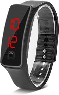 VGEBY Sports Digital Watch, Silicone Jelly LED Electronic Wrist Watch Bracelet Men Women