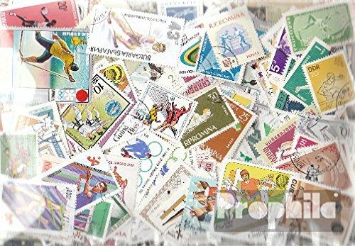Prophila Collection Motivazioni 500 Diversi Sport Francobolli (Francobolli per i Collezionisti) Altri Sport
