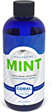 Professional Formulated Coral White Nano Silver Xylitol Mouthwash Alcohol and Fluoride Free, Helps Soothe Mouth Sensitivity, Kills Germs that Cause Bad Breath - 12 Ounces (1 Pack)