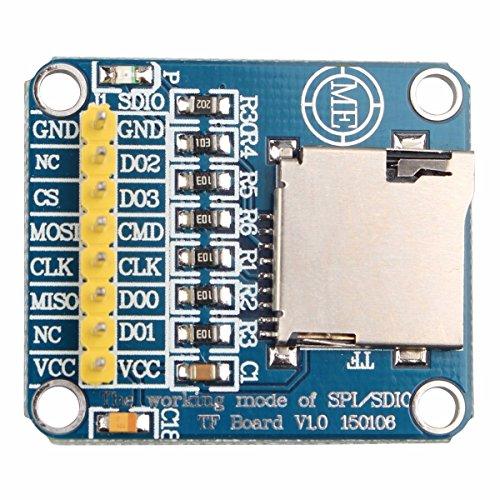 Modul Control Interface Mikro-SD-Karte TF-Karte Lesen und Schreiben SDIO-SPI-Speicherkarte für Arduino