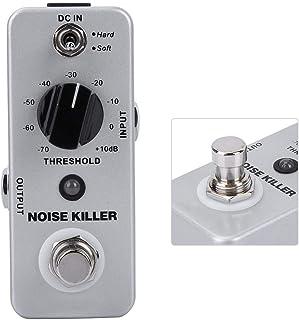 Pedal de efectos de guitarra, Mini MOOER Noise Killer Pedal de efectos de reducción de ruido con True Bypass Guitar Effector Accesorio fácil de transportar