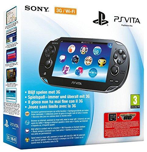 Console Playstation Vita (3G + Wifi) + Motor Storm RC + Carte Mémoire 4 Go pour PS Vita