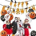 Fephant Halloween Paper Garland Skull Banner