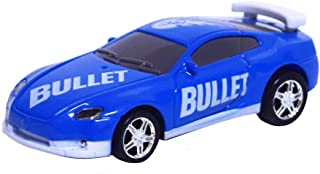 As Seen On TV RC Pocket Racers Remote Controlled Micro Race Cars Vehicle, Bullet Blue