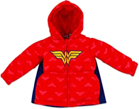 Dreamwave Toddler Girl Authentic Character Winter Puffer Jacket with Hood