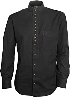 Traditional Irish Grandfather Collarless Shirt