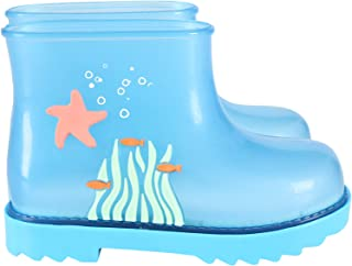 Mini Melissa - Bottes bleu clair pour enfants avec étoile de mer – 24, transparent