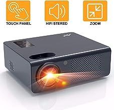 Proyector Cine en Casa 4800 Lúmenes - Artlii Energon Proyector HD Led, Admite Dolby AC-3,Altavoces Estéreo Duales, Zoom, Remote Learning, USB / HDMI / SD / AV / VGA
