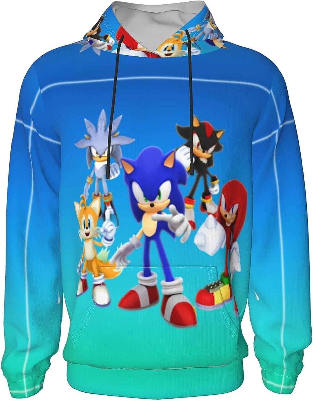 Teenage Game Print Casual Long Sleeve Pocket Pullover Jacket Sweater New Warm Fashion Sweatshirts Shadow For Boys/Girls