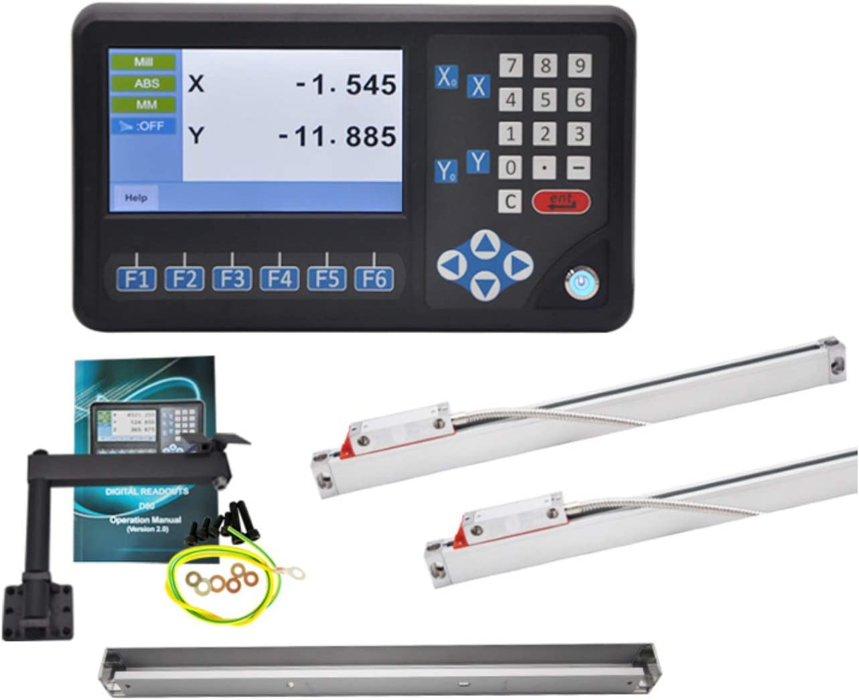 2pcs High Accuracy 5um Linear Scale Optical Sensor Glass Scale ...