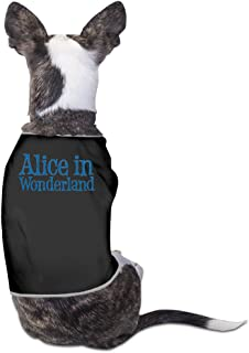 Alice In Wonderland Dog Clothes Dog Sweater Coats Jackets