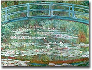 Artistic Home Gallery 3040AM799SAG Water Lily Pond
