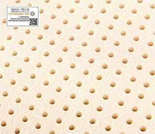 Queen Pure Talalay Latex Mattress Pad Topper, All Densities (Medium 70K Density, 2 Thick)