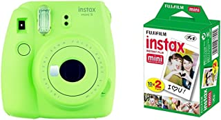 Fujifilm Instax Mini 9 - Cámara instantánea Cámara con 2x10 películas Verde
