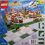 LEGO Town 6323 Cross Road Plates