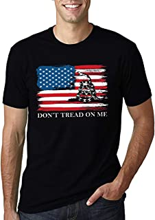 Gadsden Flag t Shirt Dont Tread on me t Shirt