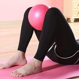 DF-ES Pelota de Yoga de tamaño pequeño Bolas de Yoga Antideslizantes Profesionales Balance Sport Fitball Proof Ball para Ejercicio en el hogar (Color: Rosa)