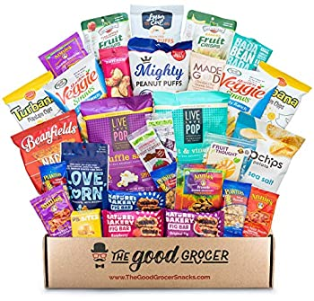 Good Grocer All Natural Healthy Snacks Basket