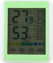Rápido Medidor de humedad relativa interior, la pantalla táctil de la humedad del detector, digital electrónico de humedad del monitor for el dormitorio de la sala de baño Oficina Medición de la tempe