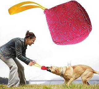 ENDUL Palline Giocattolo per Animali Domestici Palline in Gomma con Impronta Morbida Gioca interattivo Cucciolo di Cane Massaggio per Gatti Mordere molare Mordere Giocattoli Forniture