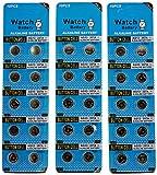 SkoTeRy 30 Pack AG13 LR44 357 303 SR44 1.5V Battery Button Coin Cell Batteries