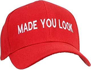 Tropic Hats Adult Embroidered Made You Look Structured Adjustable Cap