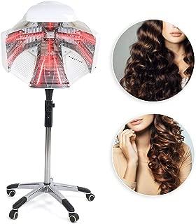 Procesador de color, acelerador de secado por infrarrojos con base rodante, secador de pelo de pie multifuncional, trípode, para el peinado del cabello de salón(UE)