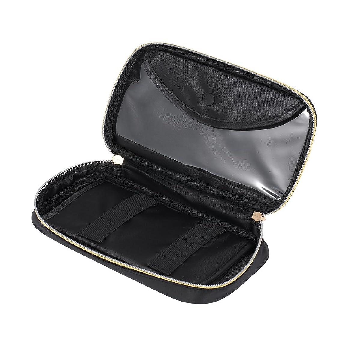 ツイン歩き回るしみDecdeal ネイルアートペン収納ポーチ ネイルブラシ用 大容量 化粧メイクバッグケース用 防水収納袋