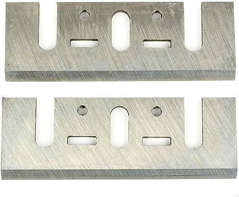 """4 x Bosch Dewalt Trend 82mm 3 1//4/"""" INCH TCT PLANER BLADES Reversible"""