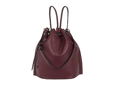 AllSaints Lear Backpack (Burnt Sienna Red) Backpack Bags