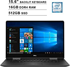 $1049 » 2019 Dell 15.6 Inch 2-in-1 4K Ultra HD Touchscreen Laptop (Intel Core i7-8550U up to 4.0 GHz, 16GB RAM, 512GB SSD, NVIDIA GeForce MX130, Backlit KB, WiFi, Bluetooth, HDMI, Win10 Home) (Abyss Black)