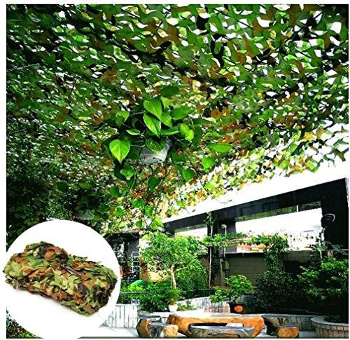 Red De Camuflaje Malla De Camuflaje Camouflage Net Red De Protección Forestal del Ejército Y Cubierta Exterior Toldo Jardín De Acampada Patio Invernadero Paraguas Decoración Caza Tiro 2x3(Size:4x4m)