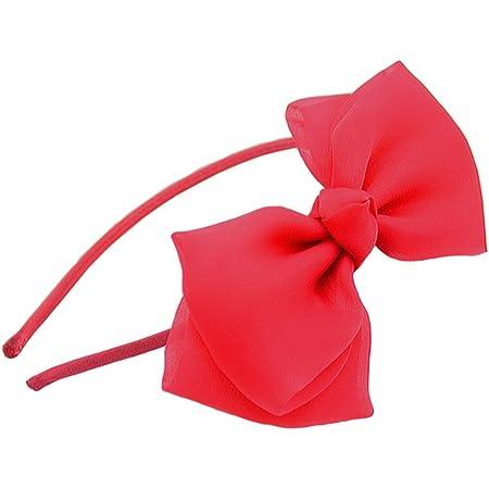 Halloween Mickey Mouse Shabby Flower hair bow orange /& black