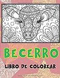 Becerro - Libro de colorear