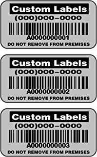 metalized labels