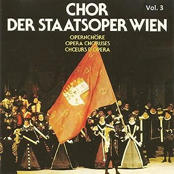 Chor Der Staatsoper Wien Vol 3