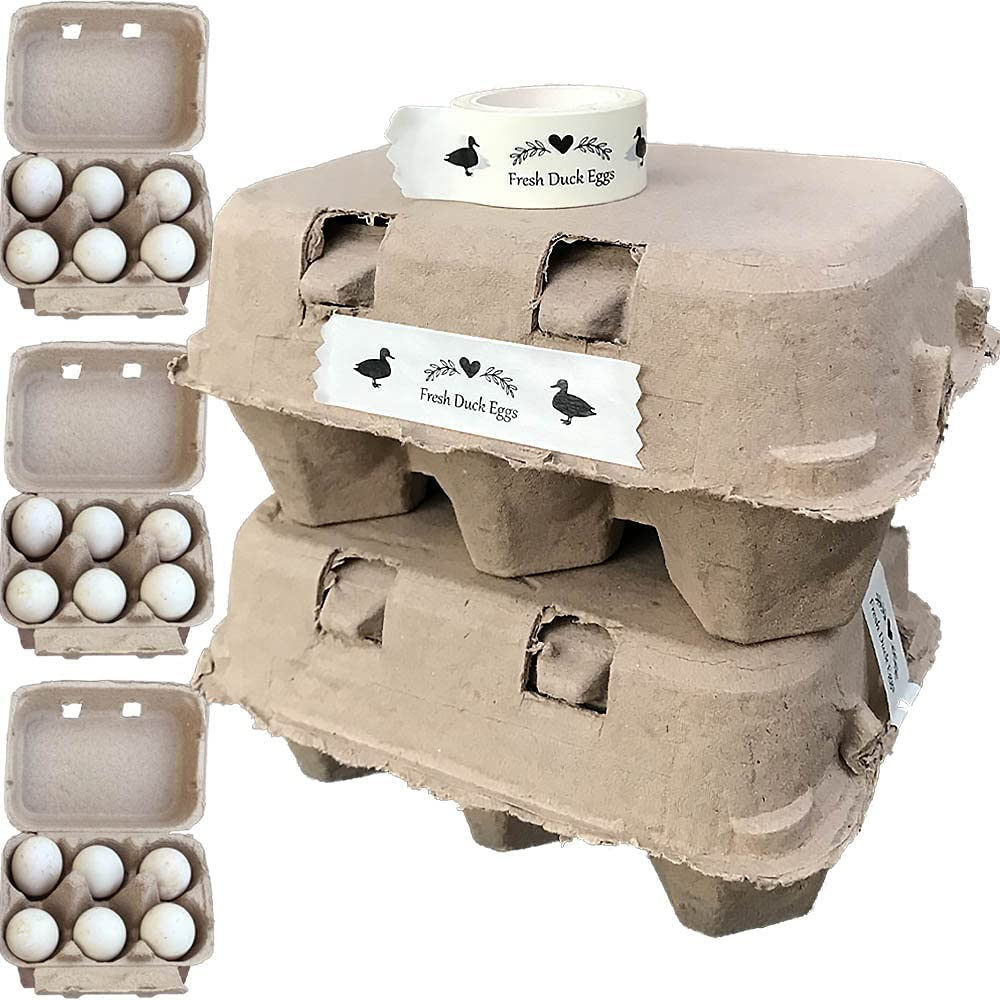Extra Large Duck Egg Cartons Super for Reusable Jumbo Pack Attention brand Limited time cheap sale 40 6