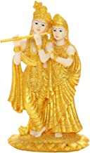 Baoblaze Krishna Statues, Krishna and Radha Buddha Statute, Buddha Statue, Indian Hindu Decoration for Home, Krishna Lord ...