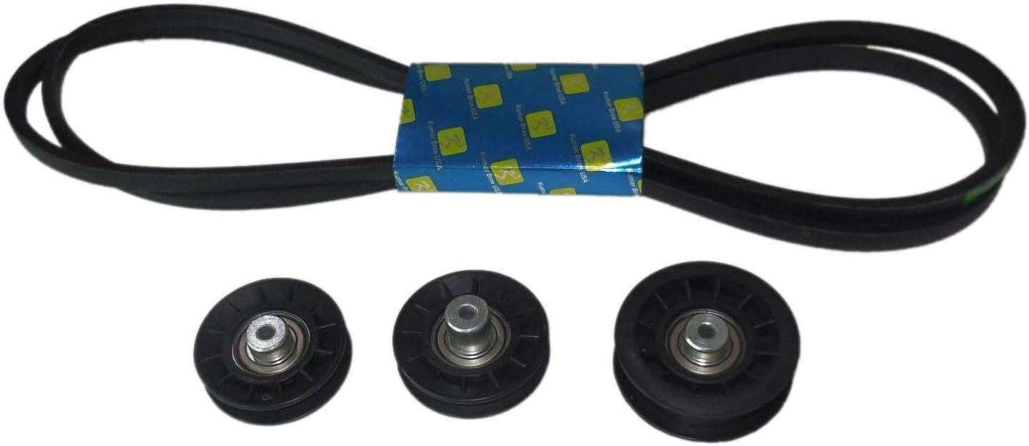 Kumar Bros 公式ストア USA New Idler Pulley W Hydro B Kit Transmission Drive 返品送料無料