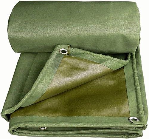XUEYAN Bache épaisse imperméable avec Oeillets couvertures de Drap de Pluie d'ombre d'isolation de Tissu de verrière (Taille   5x5M)