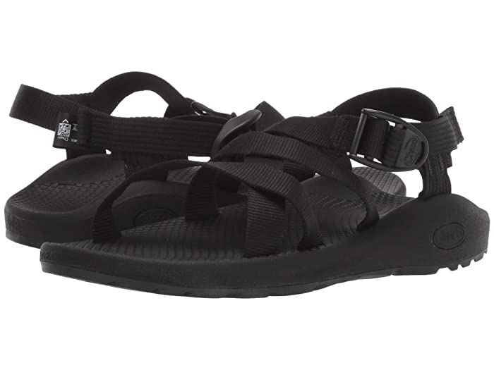 Chaco  Banded Z/Cloud (Solid Black) Womens Shoes