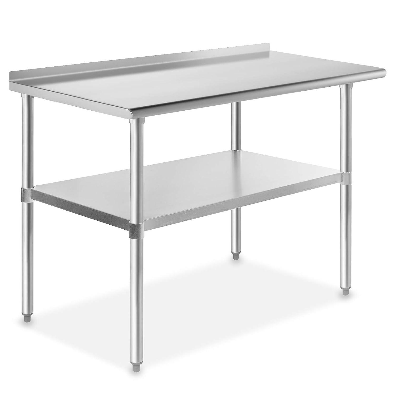 GRIDMANN NSF Stainless Steel Dedication Commercial Many popular brands Kitchen Prep Work Tabl
