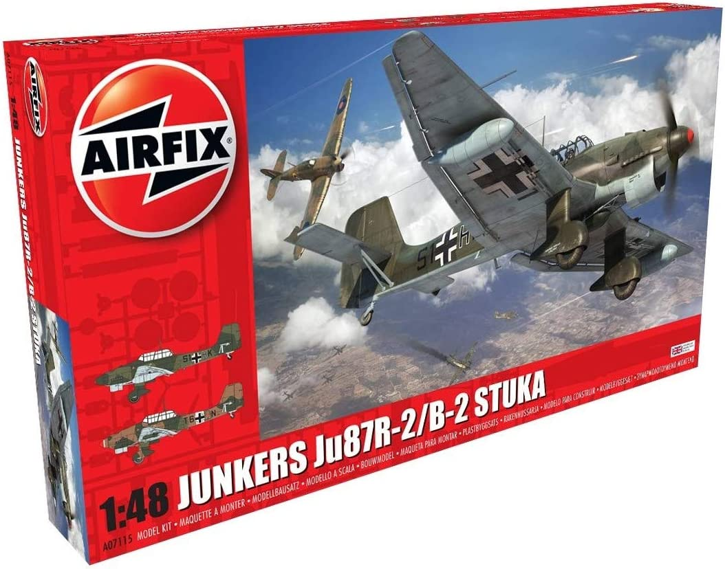 Airfix Ranking TOP3 A07115 Junkers R-2 Spasm price JU87B-2 Model