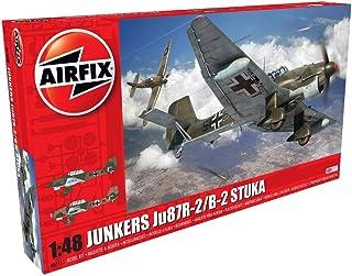 Airfix Junkers Ju87R-2/B-2 Stuka 1:48 WWII Military Aviation Plastic Model Kit A07115