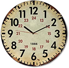 MGT113 (30 x 30 cm) Analog wood -Wall Clock Multi color